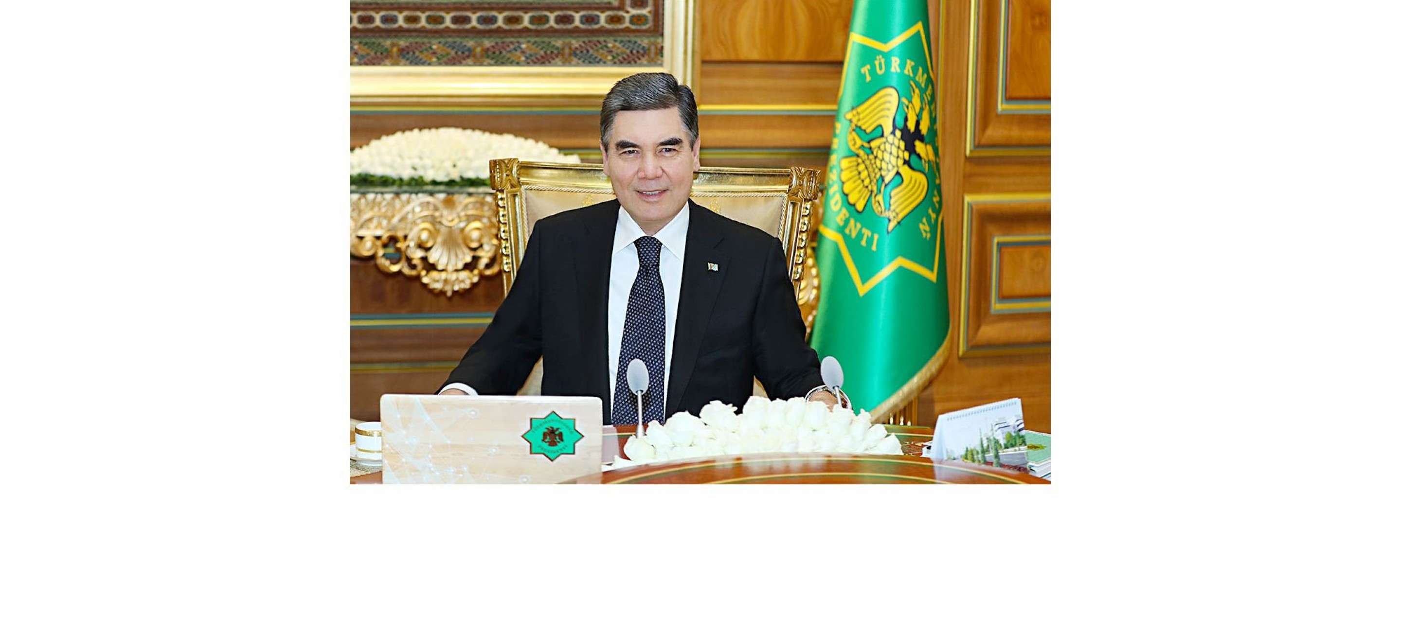 TELEPHONE CONVERSATION WAS HELD BETWEEN THE PRESIDENTS OF TURKMENISTAN AND THE KYRGYZ REPUBLIC