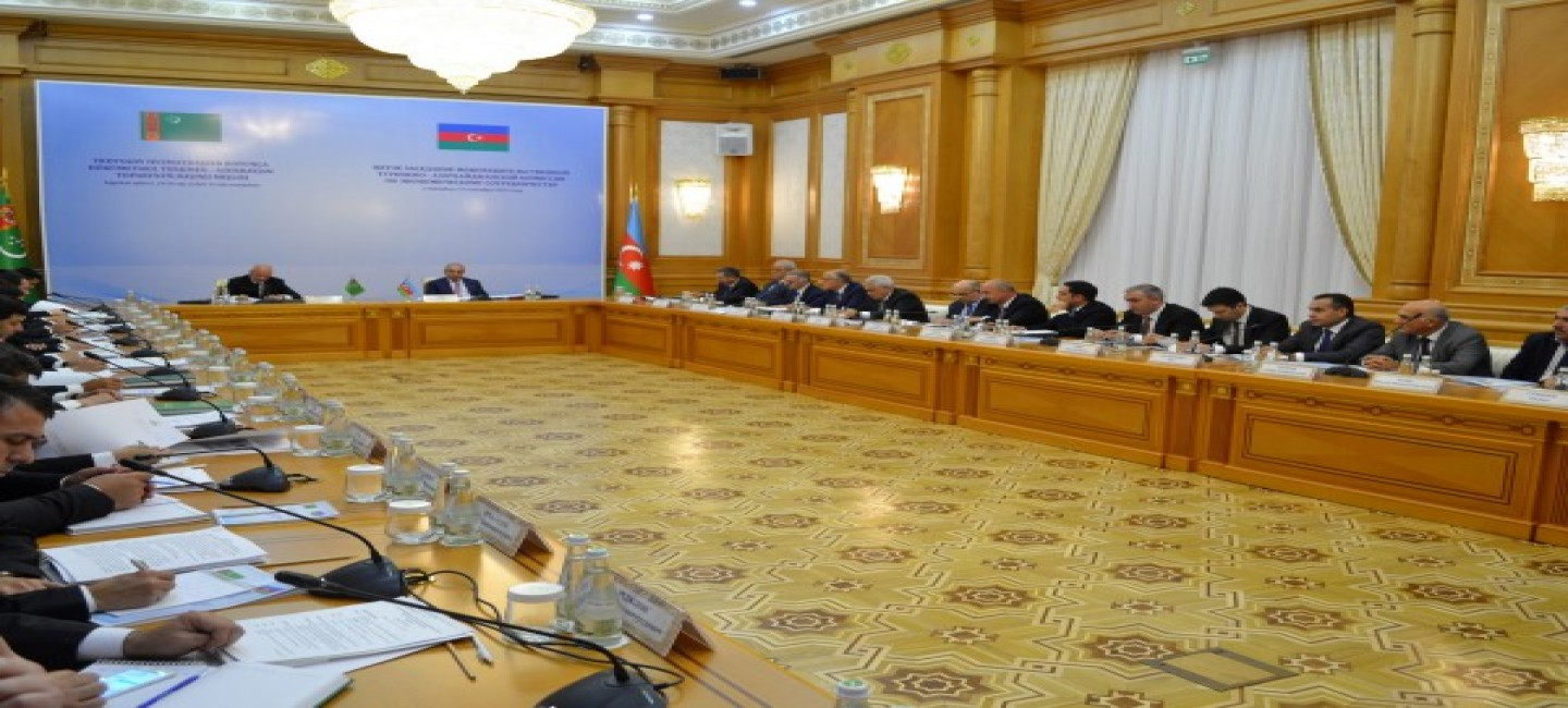 MEETING OF INTERGOVERNMENTAL TURKMEN-AZERBAIJANI COMMISSION FOR ECONOMIC COOPERATION WAS HELD IN ASHGABAT
