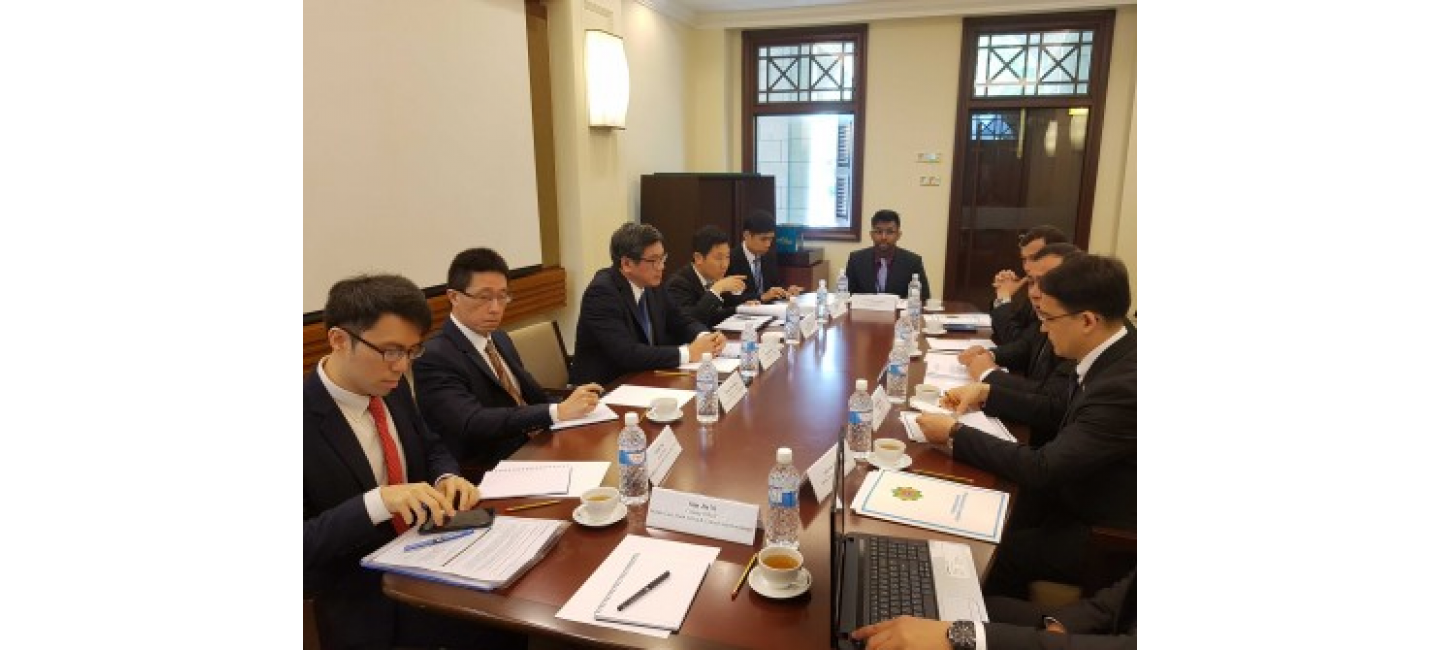 TURKMEN-SINGAPOREAN POLITICAL CONSULTATIONS WERE HELD IN SINGAPORE