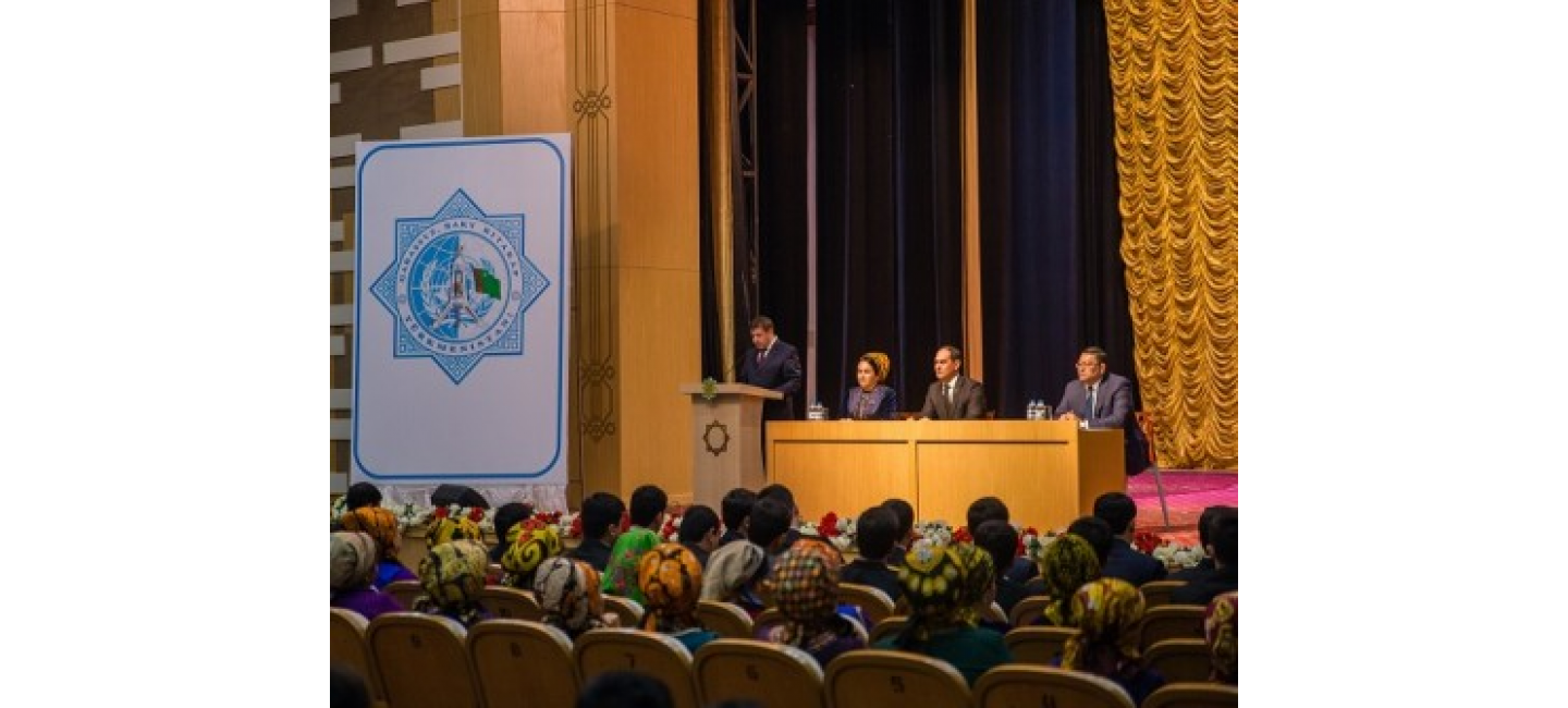 SOLEMN CONFERENCES DEDICATED TO THE 24TH ANNIVERSARY OF THE NEUTRALITY OF TURKMENISTAN WERE HELD IN THE REGIONS OF THE COUNTRY