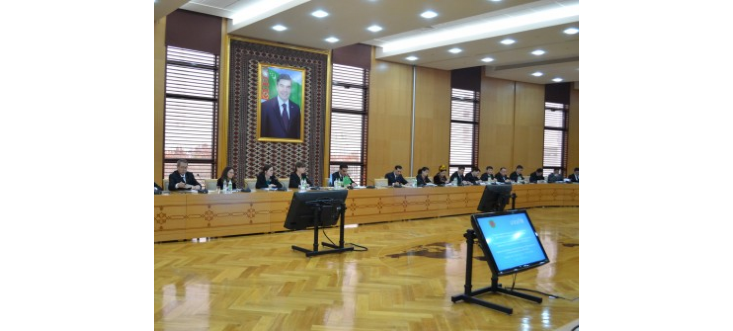 A MEETING ON THE WORKING OUT FURTHER STEPS ON THE IMPLEMENTATION OF THE NATIONAL STRATEGY OF TURKMENISTAN ON THE EARLY DEVELOPMENT OF THE CHILD WAS HELD